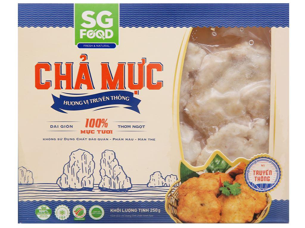 Chả mực hương vị truyền thống SG Food gói 250g 1