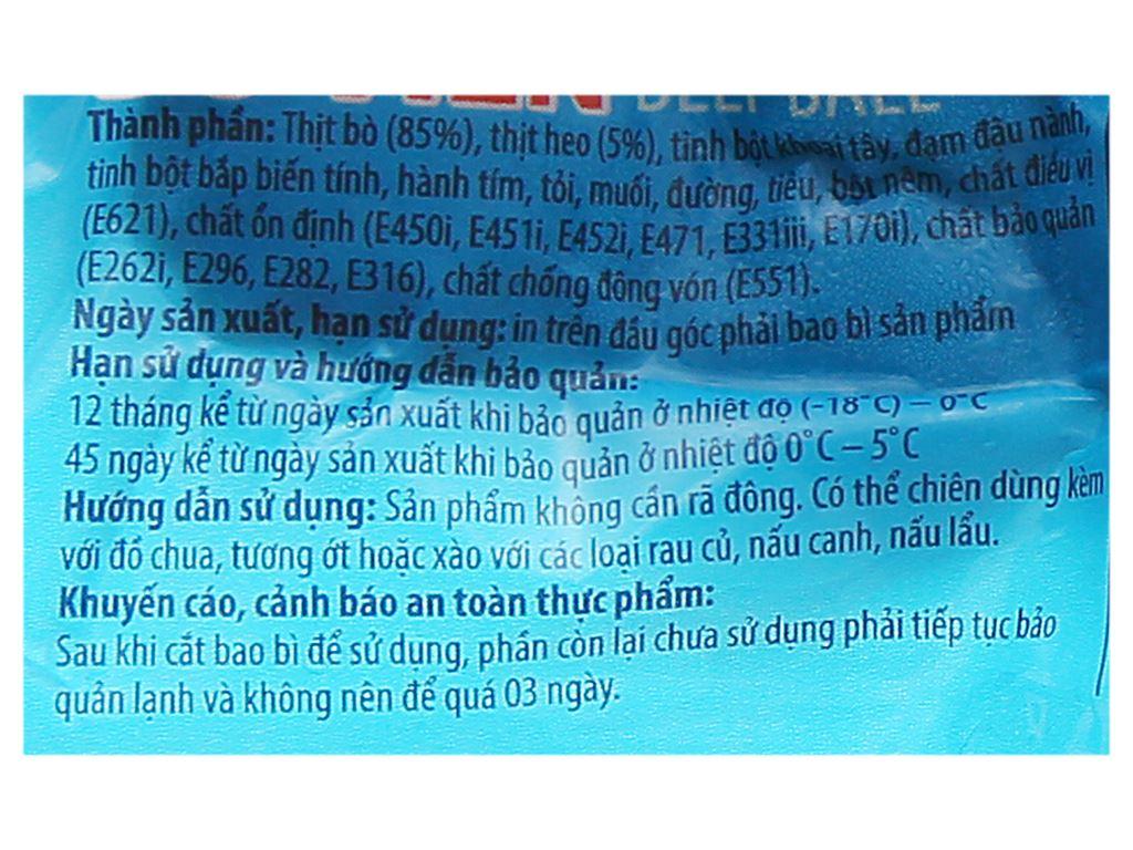 Bò viên Tân Việt Sin gói 200g 3