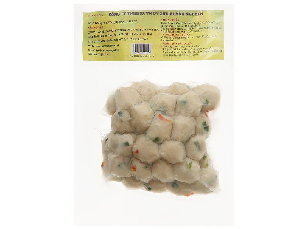 Cá viên hành ớt Huỳnh Nguyễn gói 250g 2