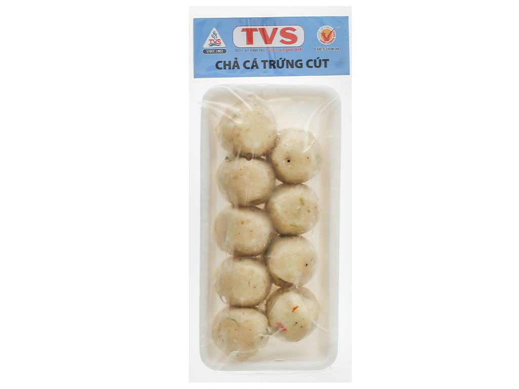 Chả cá trứng cút Tân Việt Sin gói 200g 1