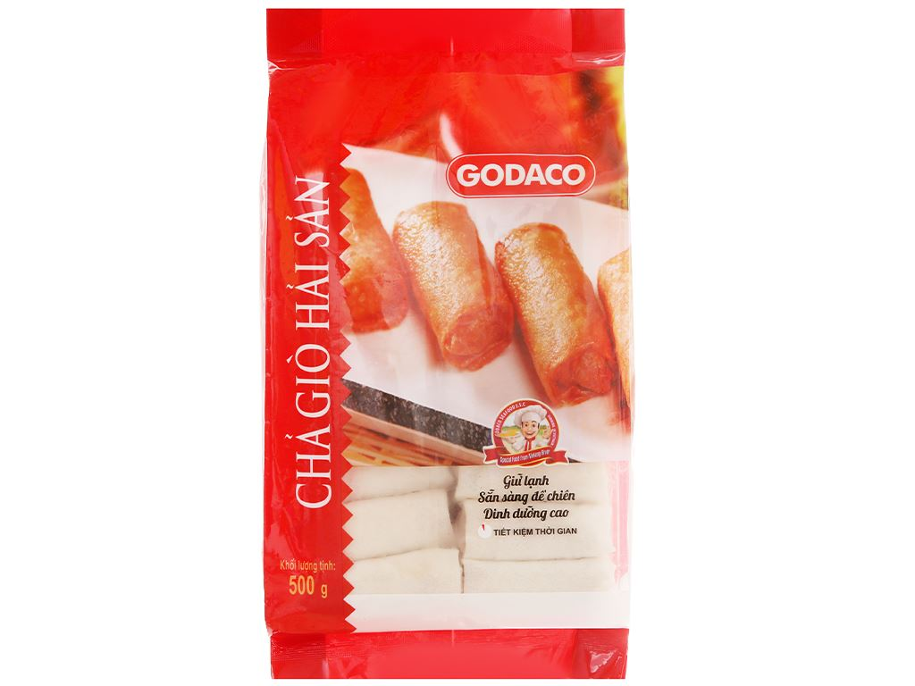 Chả giò hải sản Godaco gói 500g 5