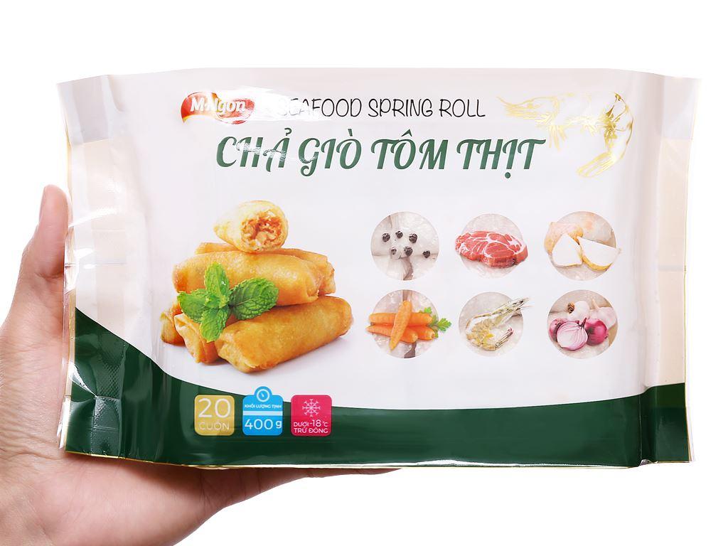 Chả giò tôm thịt M.Ngon gói 400g 3