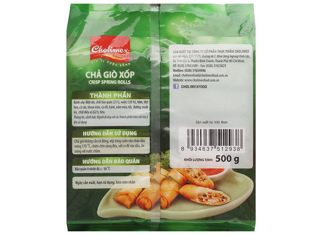 Chả giò xốp Cholimex 500g 2