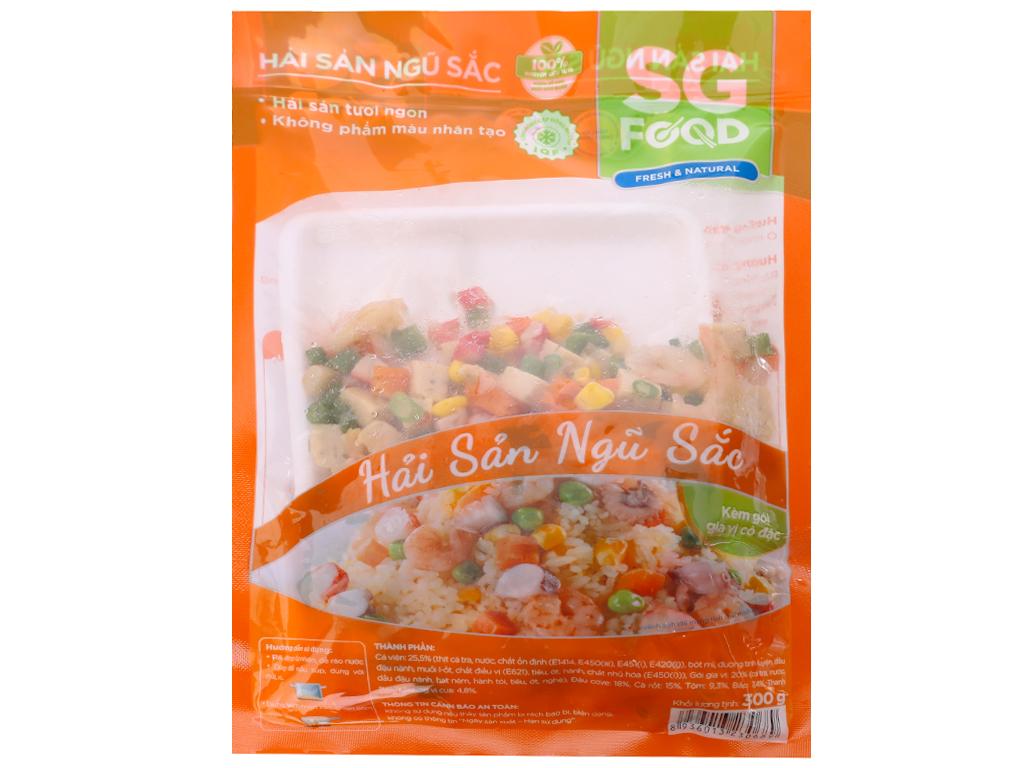 Hải sản ngũ sắc SG Food gói 300g 1