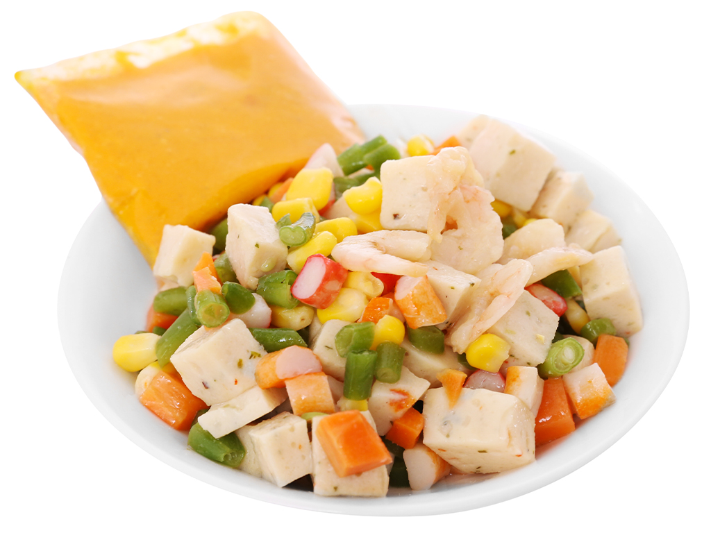 Hải sản ngũ sắc SG Food gói 300g 3