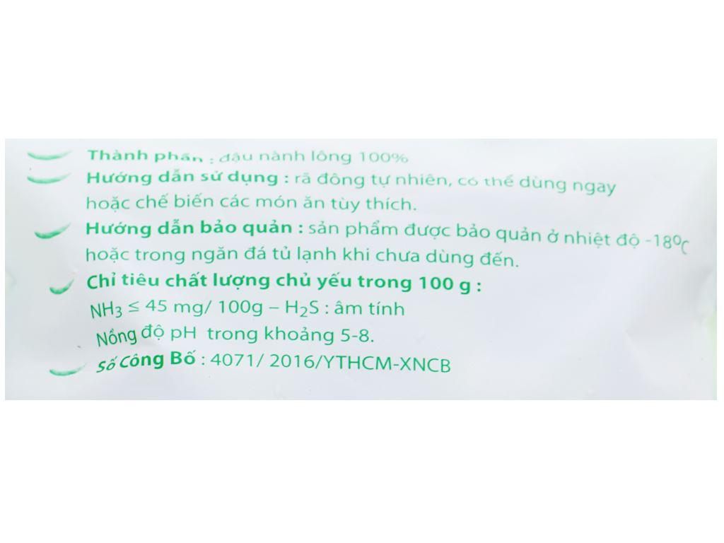Đậu nành lông Edamame Phi Long gói 400g 3