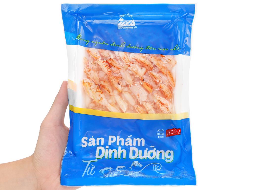 Thịt càng ghẹ Phi Long khay 200g 7