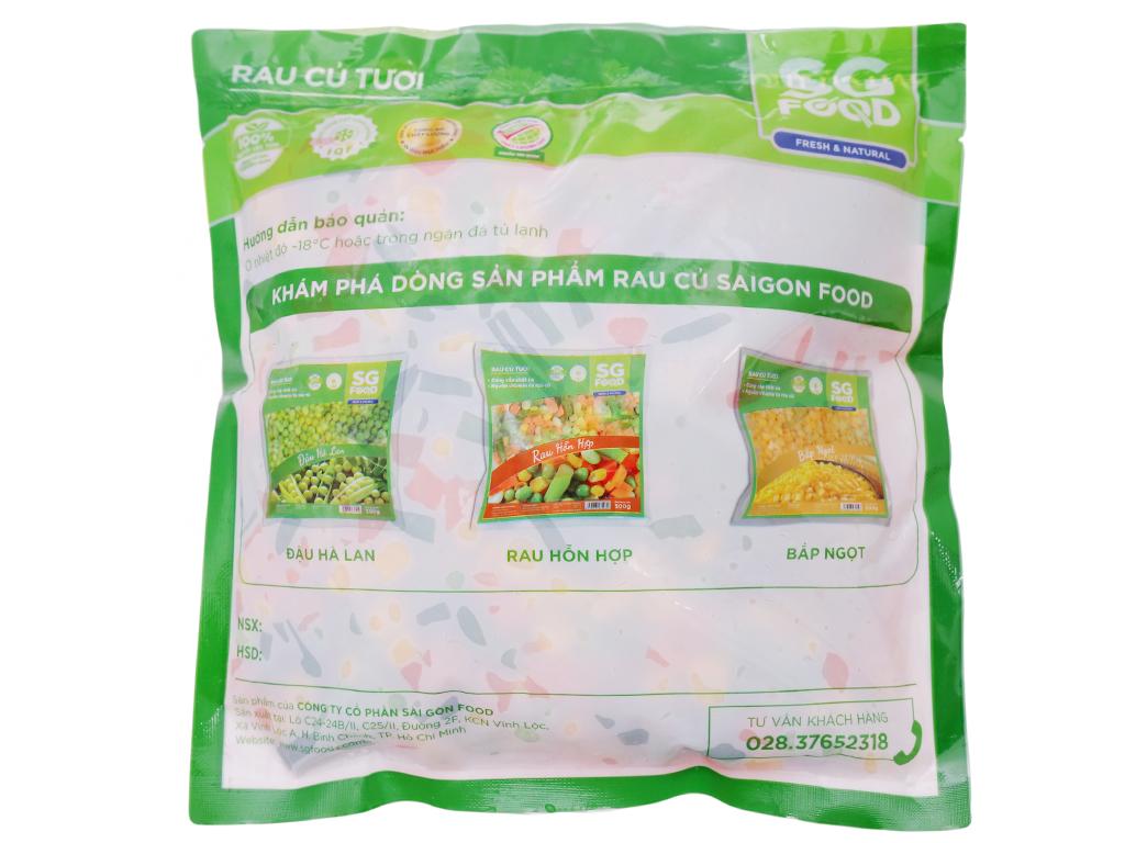 Rau quả hỗn hợp đông lạnh SG Food gói 500g 2