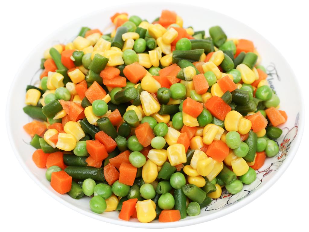 Rau quả hỗn hợp đông lạnh SG Food gói 500g 4