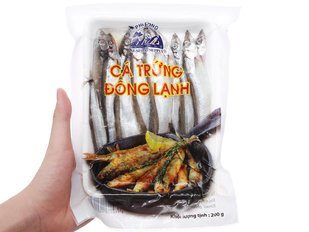 Cá trứng đông lạnh Phi Long khay 200g 4