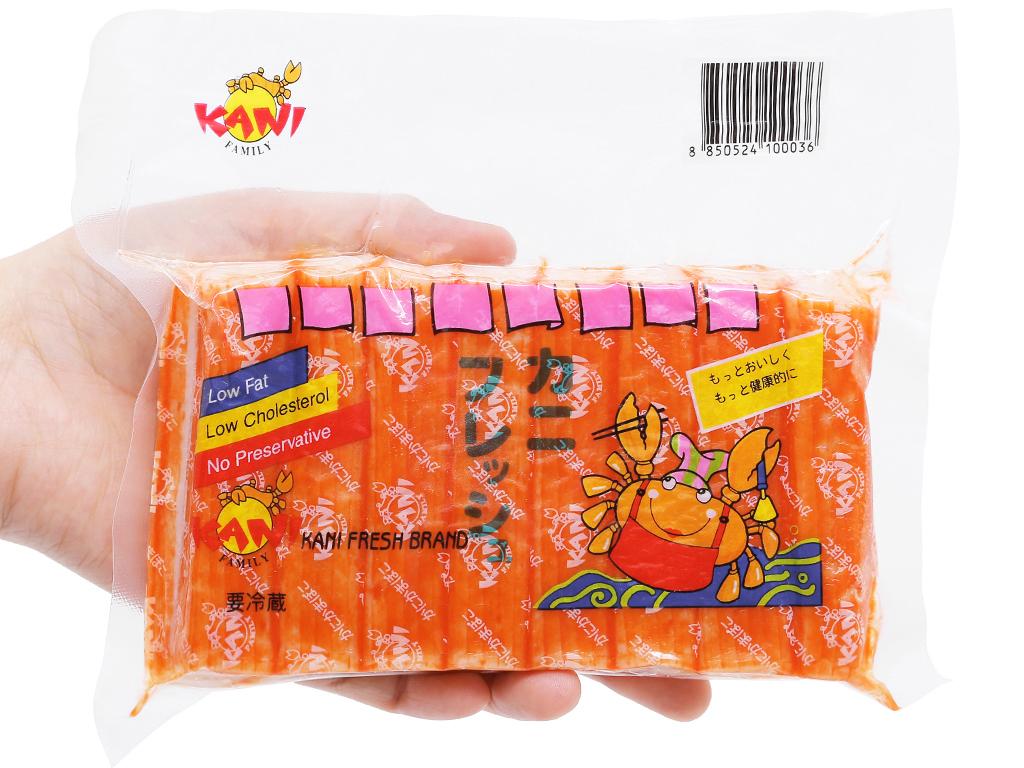 Que surimi hương cua Kani Fresh gói 250g 4