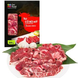 Thịt cổ bò Mỹ Orifood King BBQ hộp 300g