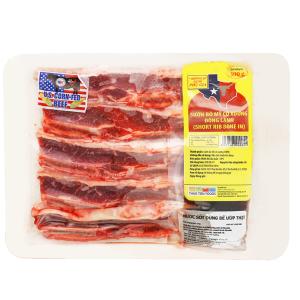 Sườn bò Mỹ có xương đông lạnh Thảo Tiên Foods khay 300g
