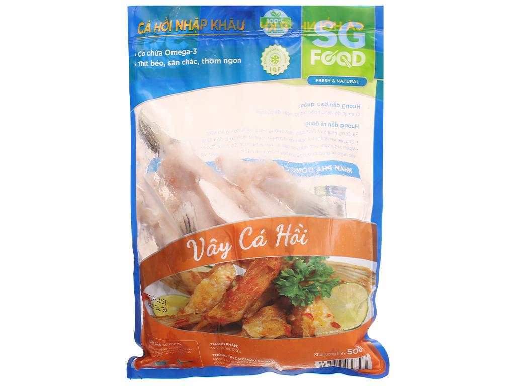 Vây cá hồi SG Food gói 500g 1