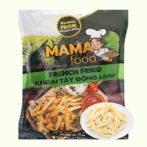 Khoai tây đông lạnh cắt thẳng Mama Food gói 500g