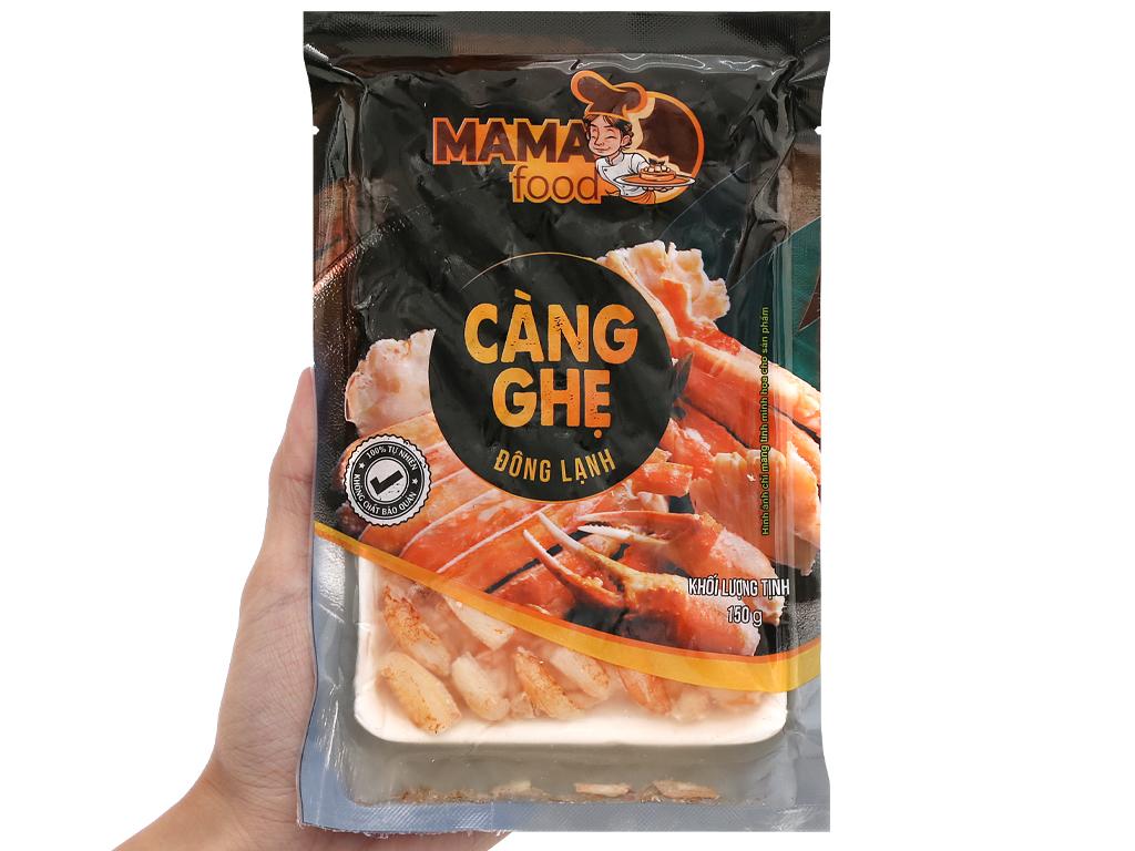 Thịt càng ghẹ đông lạnh Mama Food gói 150g 4