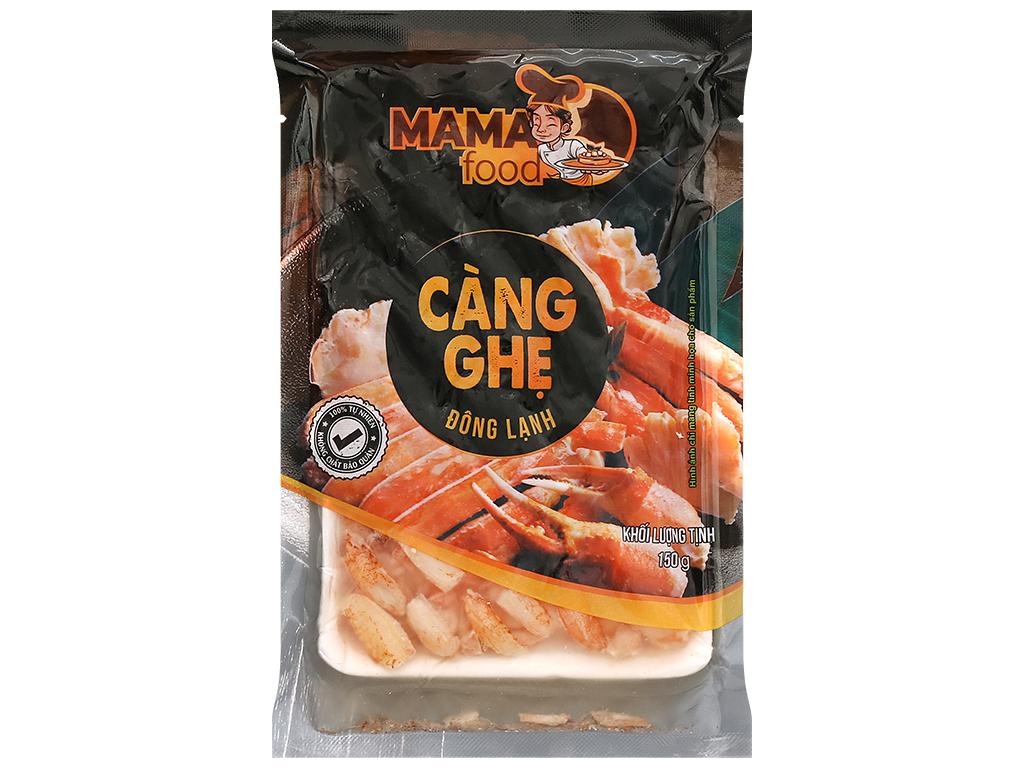 Thịt càng ghẹ đông lạnh Mama Food gói 150g 1