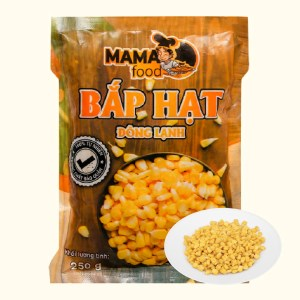 Bắp hạt đông lạnh Mama Food gói 250g