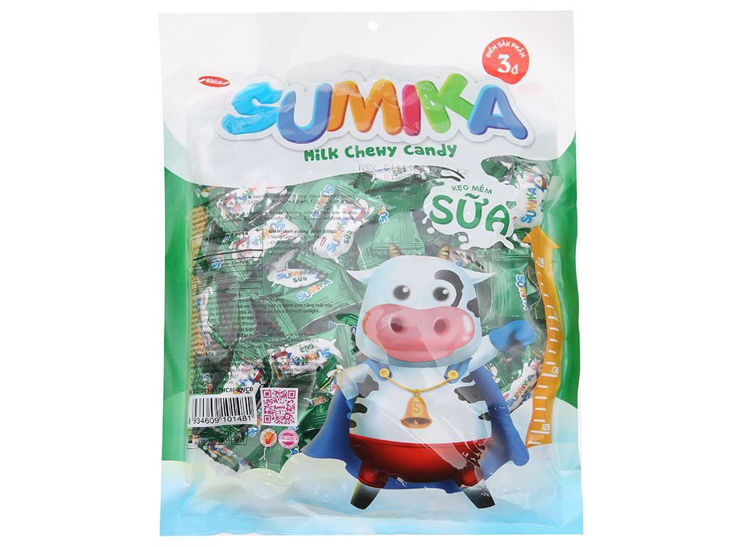 Kẹo mềm sữa Sumika gói 350g 2