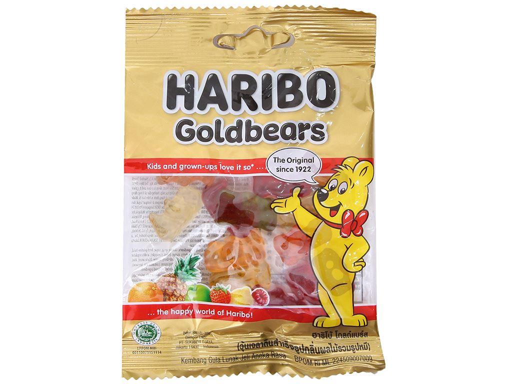 Kẹo dẻo trái cây Haribo Goldbears gói 30g 1