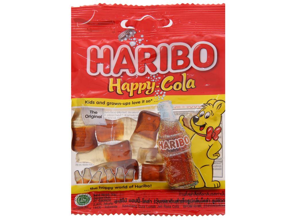 Kẹo dẻo Haribo Happy Cola gói 30g 1
