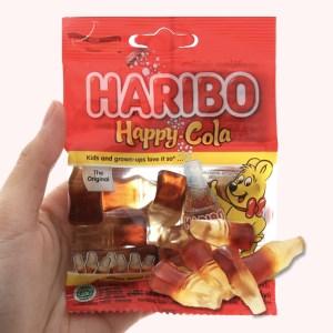 Kẹo dẻo Haribo Happy Cola gói 30g