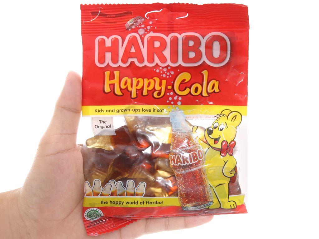 Kẹo dẻo Haribo Happy Cola gói 80g 3