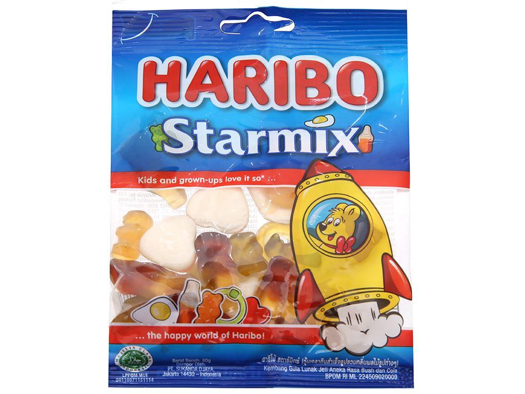 Kẹo dẻo Haribo gói 80g 1