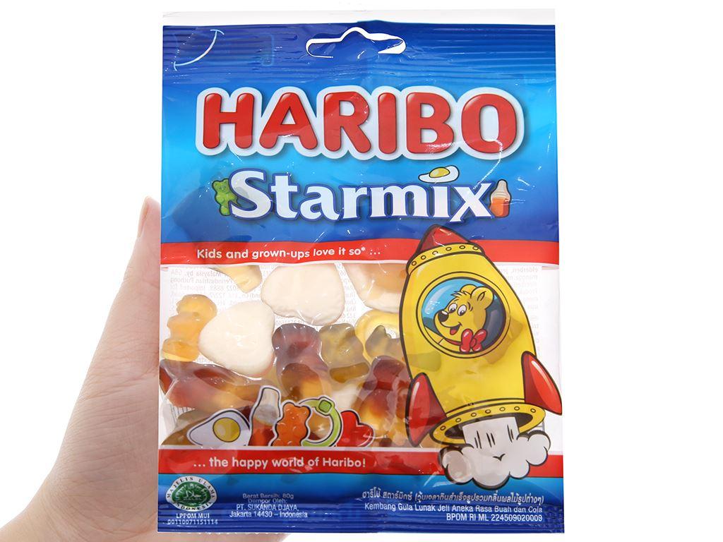 Kẹo dẻo Haribo gói 80g 3
