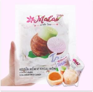 Kẹo sữa mềm vị khoai môn Malai Thai gói 67g