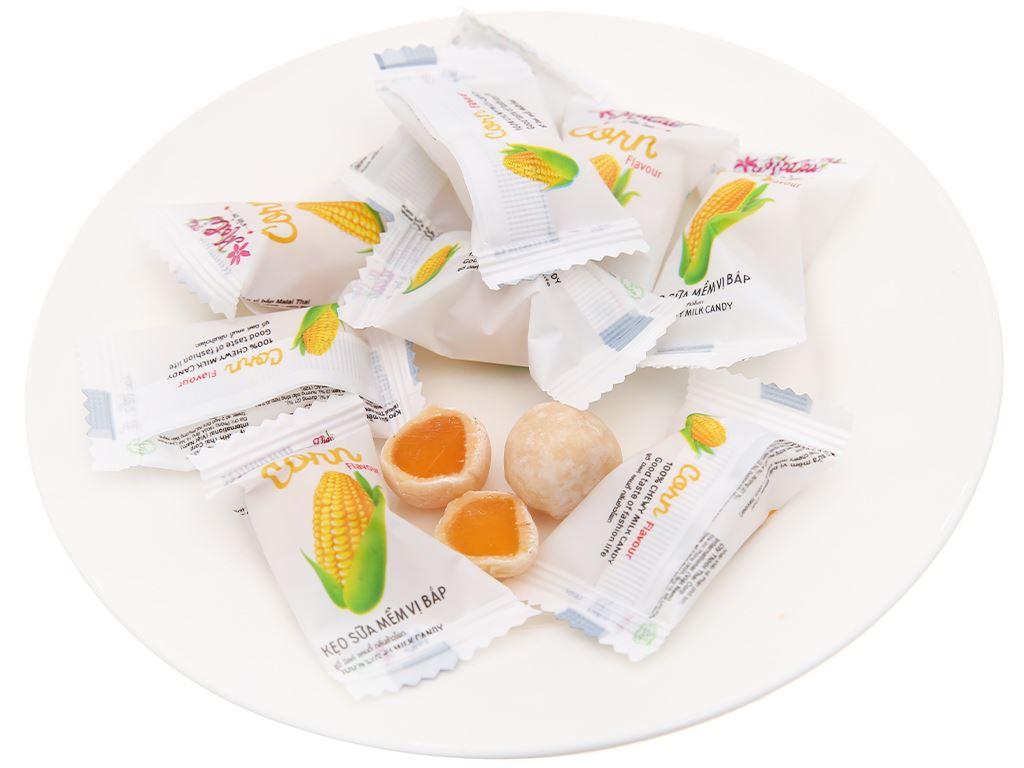 Kẹo sữa mềm vị bắp Malai Thai gói 67g 4