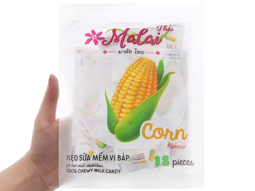 Kẹo sữa mềm vị bắp Malai Thai gói 67g 3