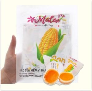 Kẹo sữa mềm vị bắp Malai Thai gói 67g