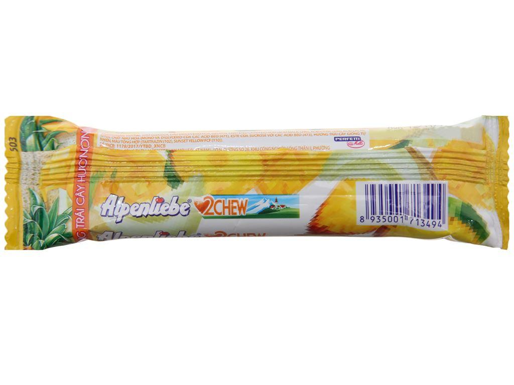 Kẹo mềm hương trái cây 2Chew Alpenliebe thanh 24.5g 2