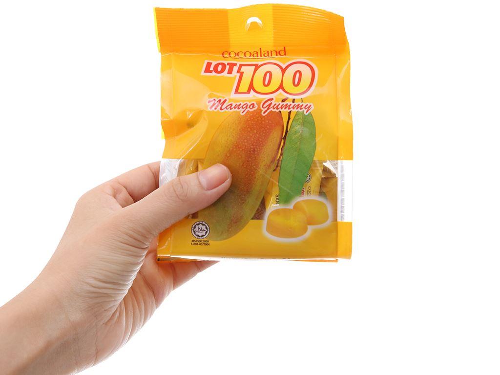 Kẹo dẻo vị xoài LOT100 gói 84g 3