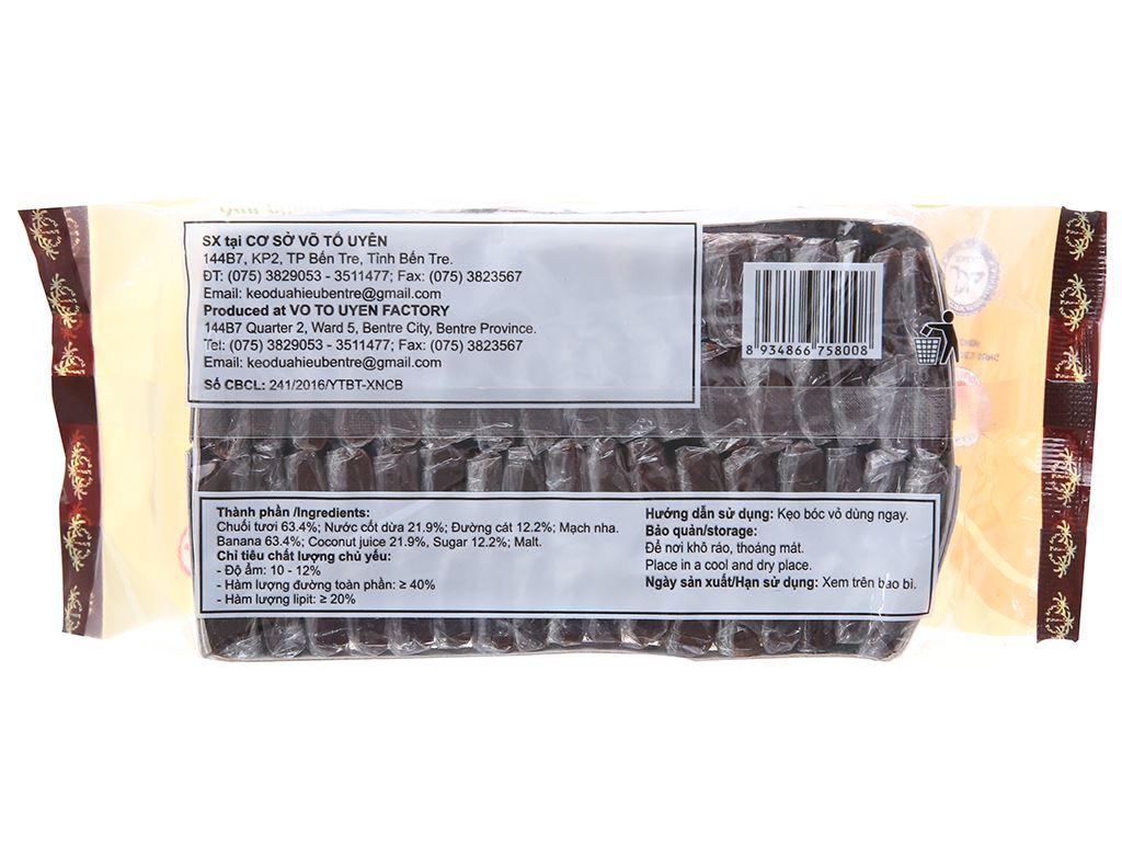 Kẹo chuối tươi Bến Tre gói 400g 2
