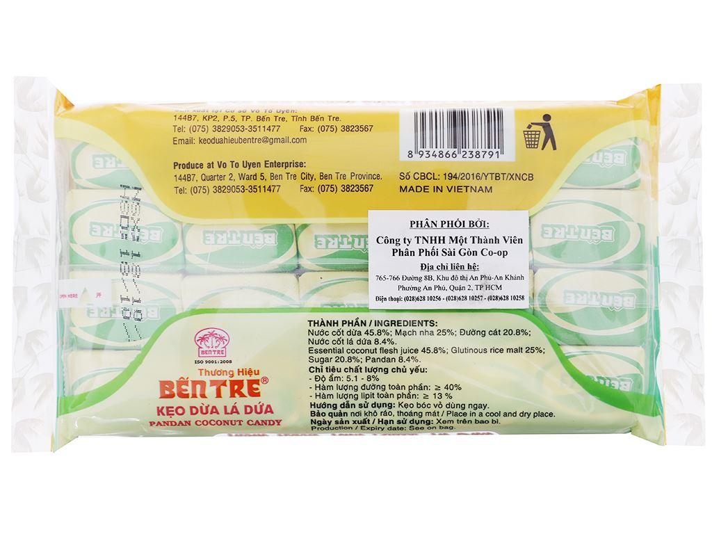 Kẹo dừa lá dứa Bến Tre gói 200g 2