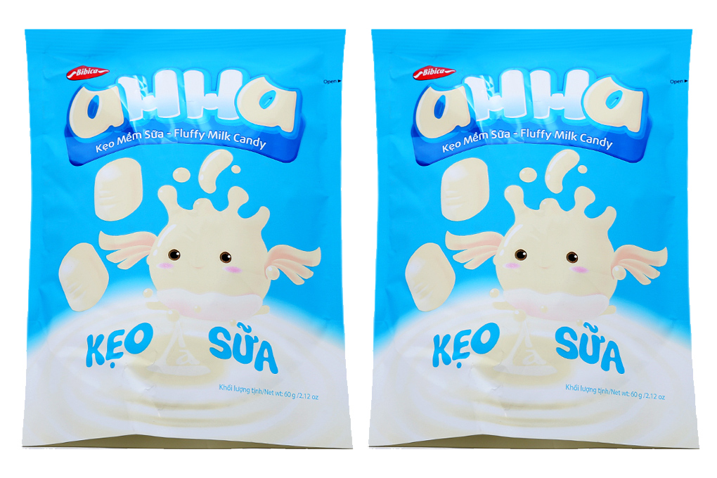 Kẹo mềm sữa AHHA sữa 60g 1