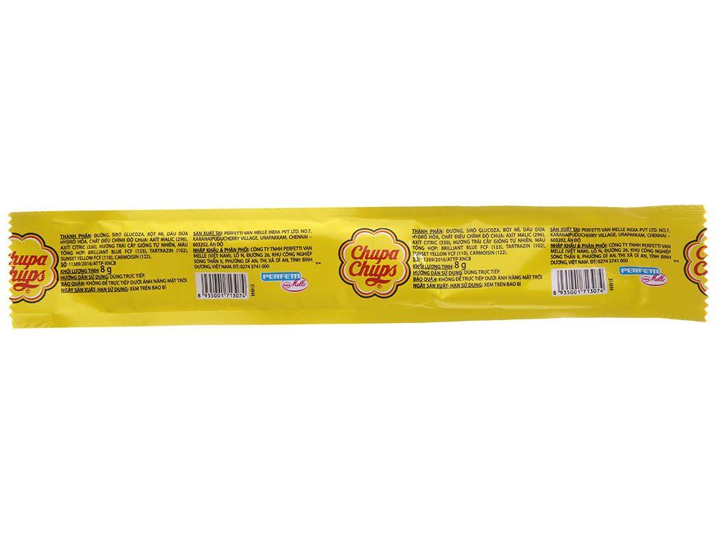 Kẹo mềm hương trái cây Chupa Chups Sour Belt thanh 8g 3