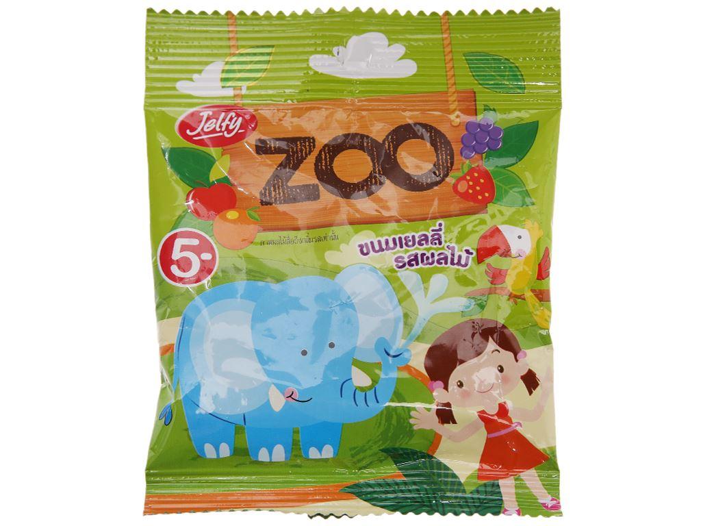 Kẹo dẻo Jelfy Zoo gói 22g 1