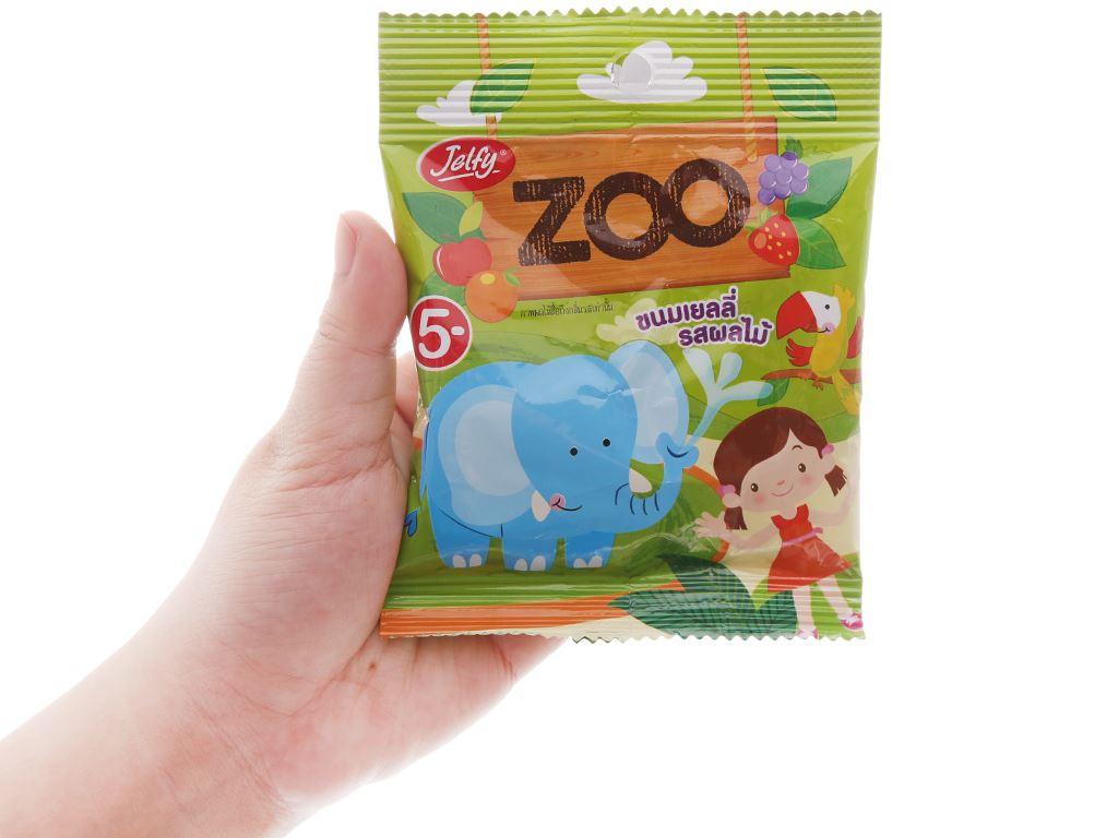Kẹo dẻo Jelfy Zoo gói 22g 3