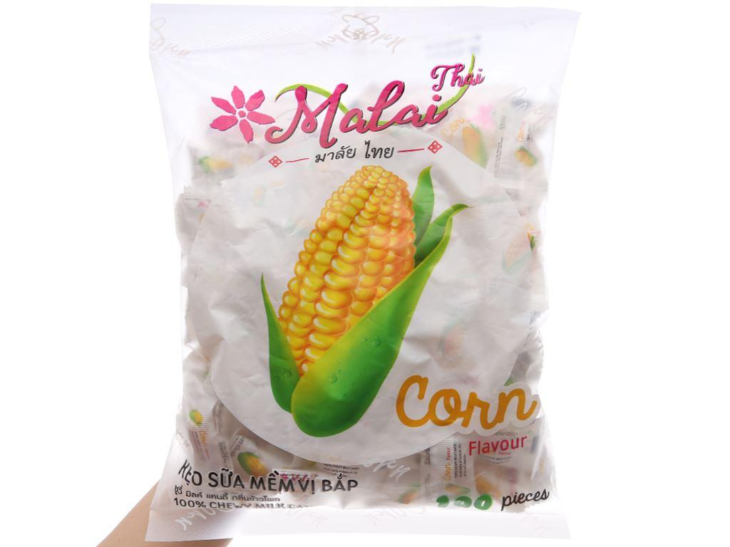 Kẹo sữa mềm vị bắp Malai Thai gói 360g 3