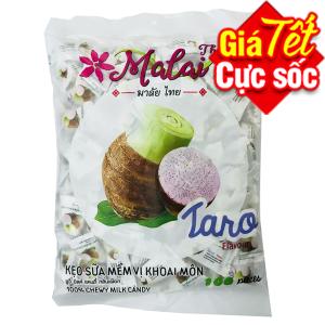 Kẹo sữa mềm Malai Thai vị khoai môn 360g