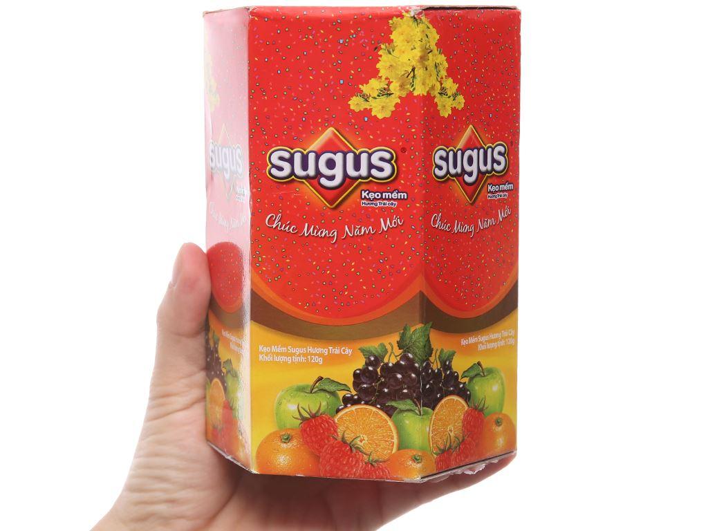 Kẹo mềm Sugus hương trái cây 120g 4