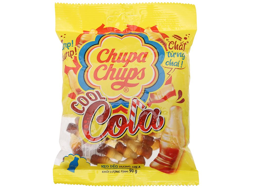 Kẹo dẻo cola Cool Chupa Chups gói 90g 1