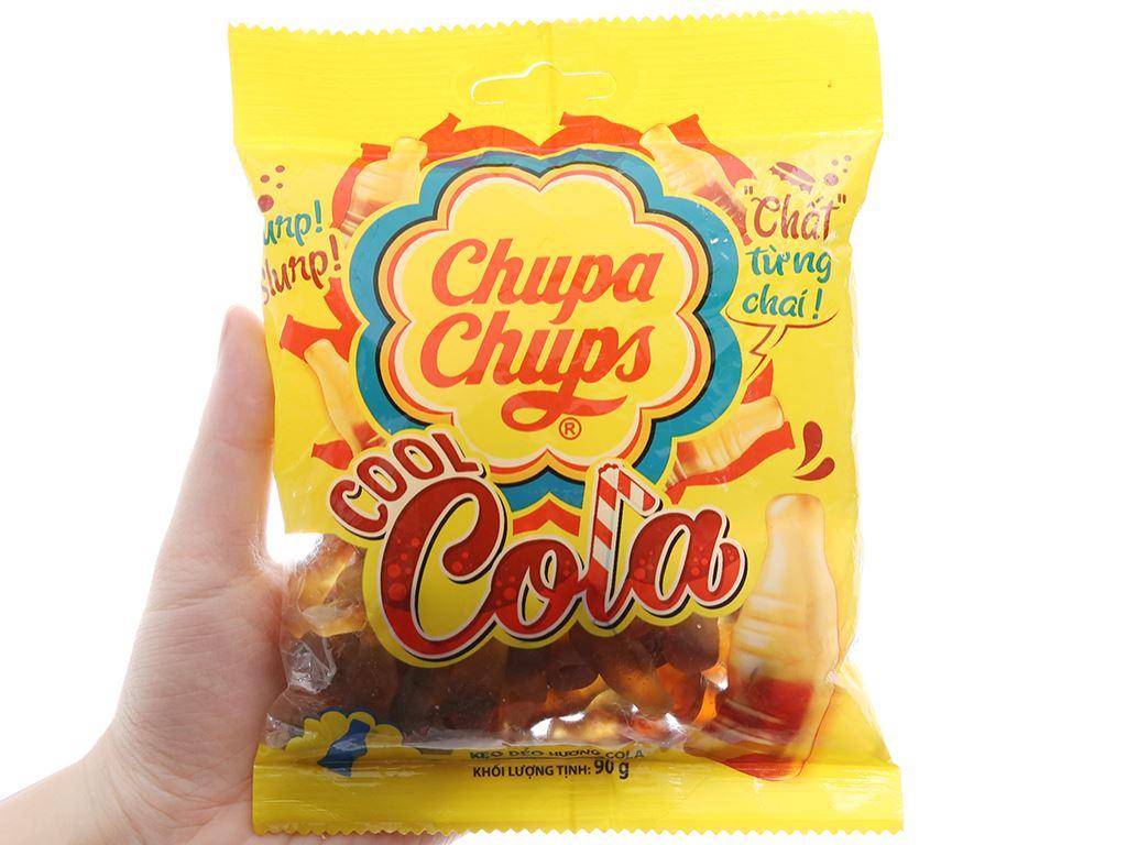 Kẹo dẻo cola Cool Chupa Chups gói 90g 3