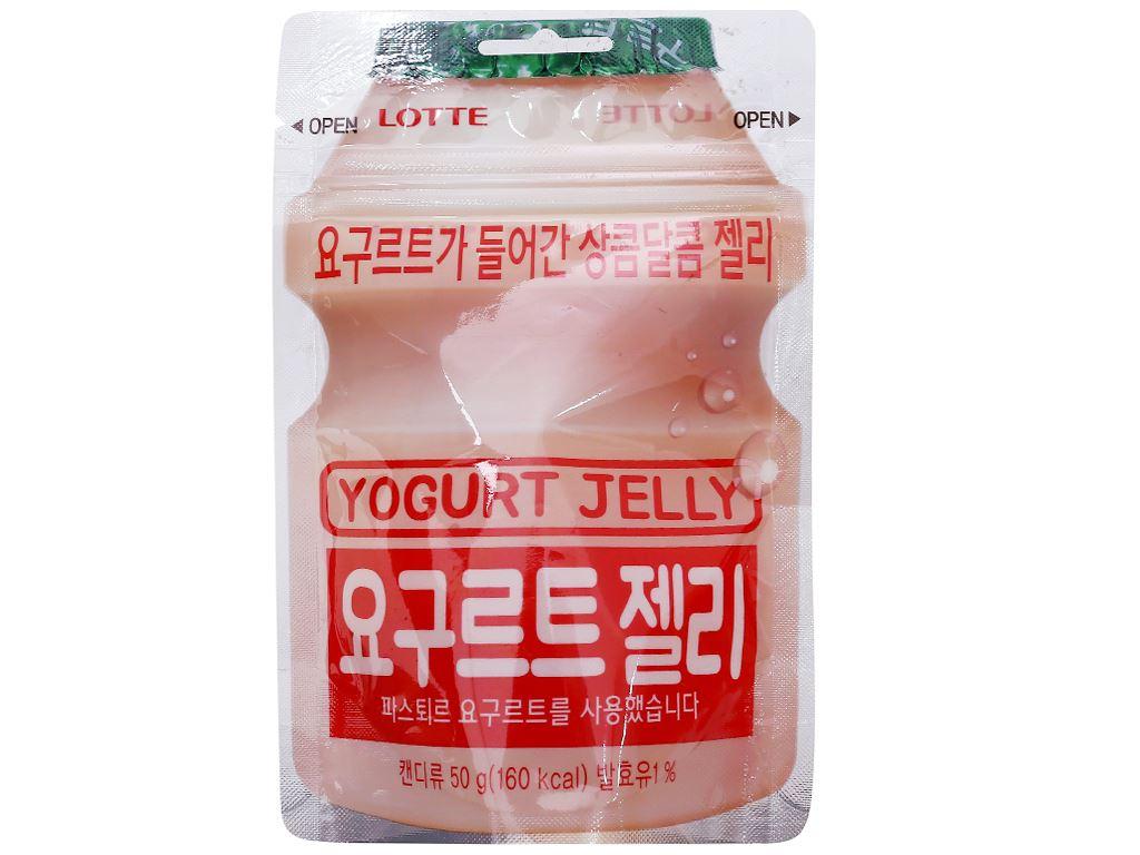 Kẹo dẻo vị sữa chua Lotte gói 50g 1