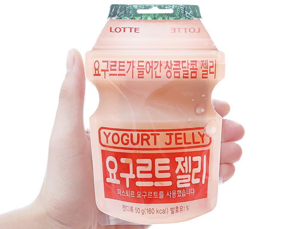 Kẹo dẻo vị sữa chua Lotte gói 50g 3