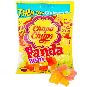 Kẹo dẻo hương trái cây tổng hợp Chupa Chups Panda Bears gói 90g