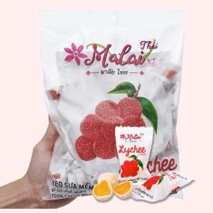 Kẹo sữa mềm vị vải thiều Malai Thai gói 360g